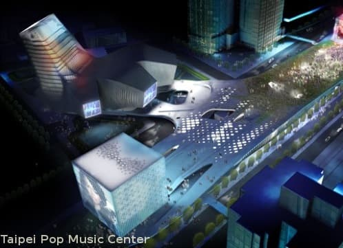 Centro de Música Pop para Taipei