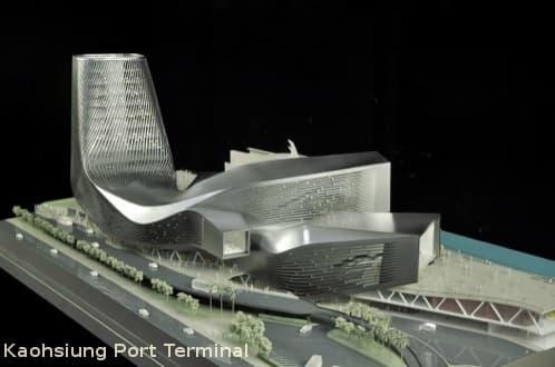 Vencedor del concurso para la Terminal del Puerto de Kaohsiung