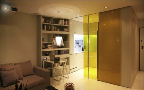 Closet House: un apartamento domótico de 44m2