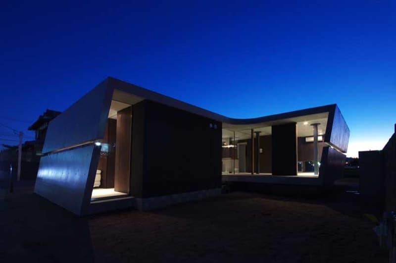 vista nocturna de casa-edge_ii en Kyotanabe