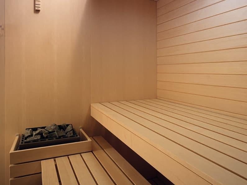 Sky saunas finlandesas de madera y vidrio de effegibi - Madera para sauna ...