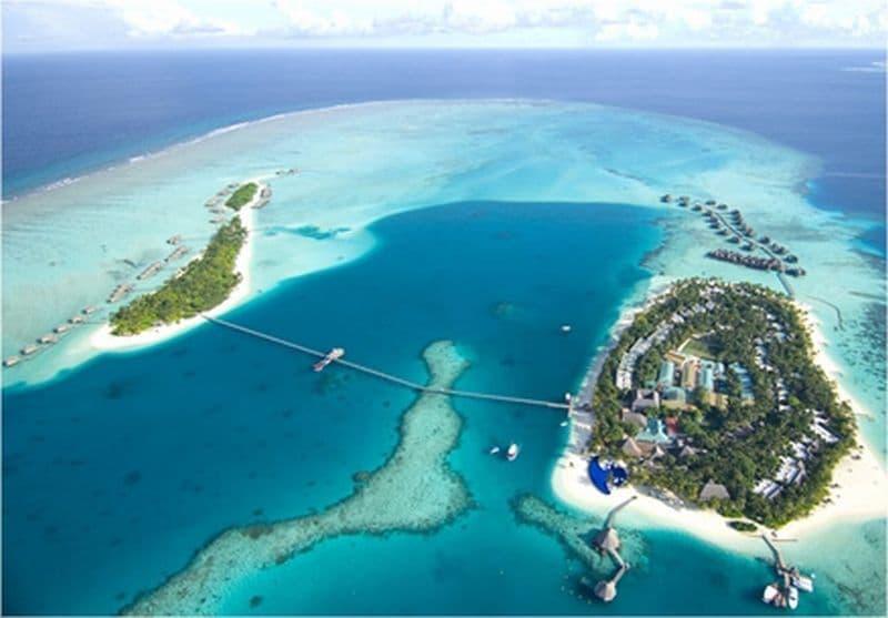 Habitaci n de hotel bajo el mar en las maldivas for Maldivas hotel bajo el agua