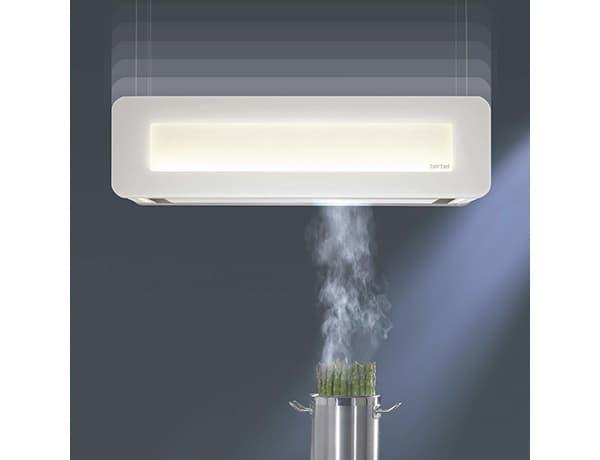Extractor De Baño Potente:Skyline: campana extractora móvil y con iluminación LED