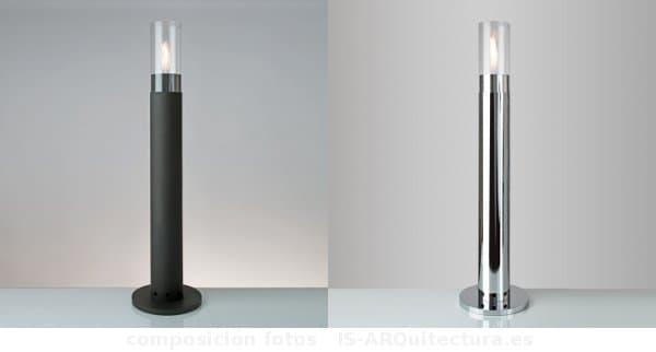columna-metalica-antorcha-bioetanol