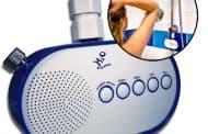 Radio para la ducha que funciona con agua