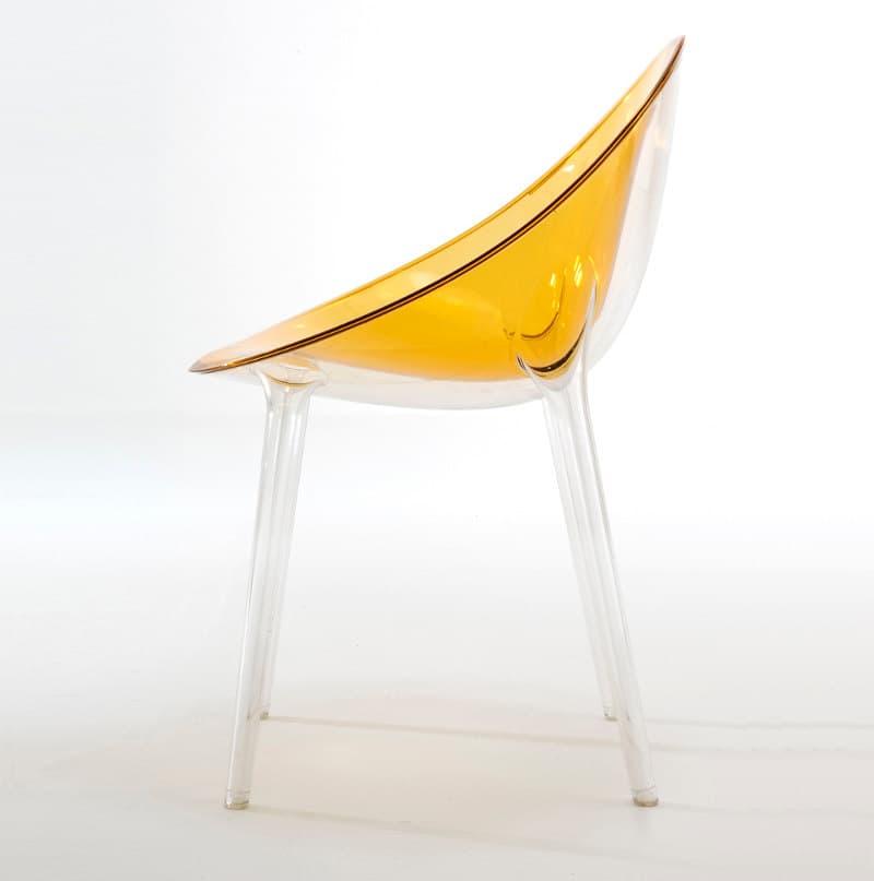Mr impossible silla de policarbonato de philippe starck - Silla philippe starck ...