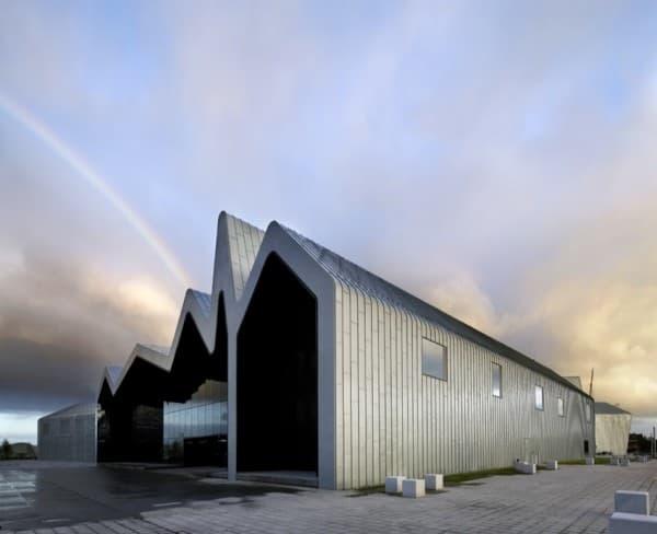 Museo-Riverside-del-Transporte-Glasgow, foto exterior