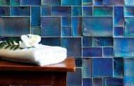 Mason: azulejos en varios tamaños