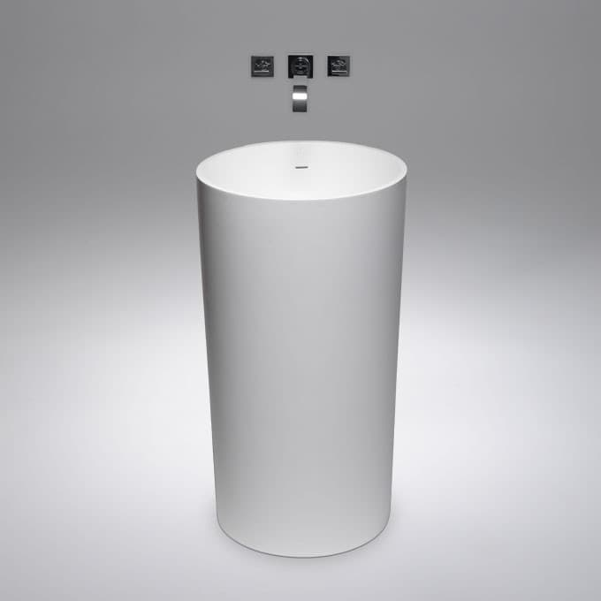 Lavabos para ba o con pedestal for Mueble lavabo pedestal