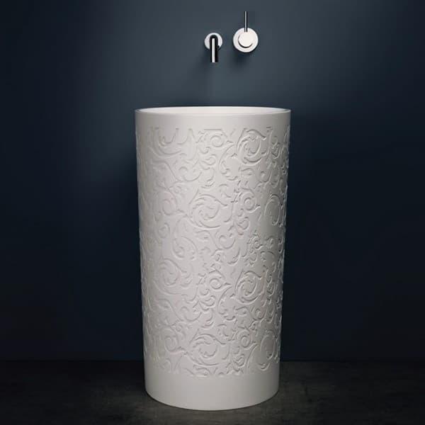 lavabo-pedestal-piedra_con_bajo_relieve-Blu_Stone