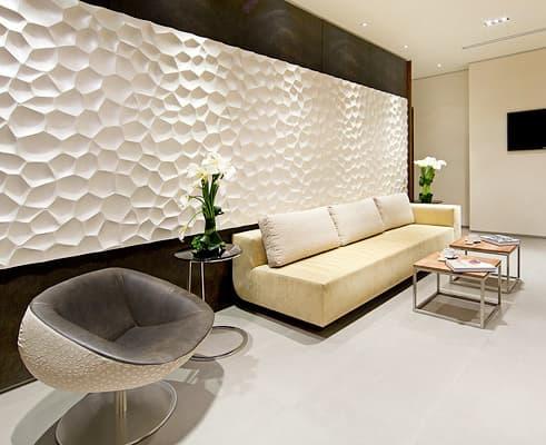 Paneles decorativos de interlockingrock arquigeek for Paneles decorativos de pvc