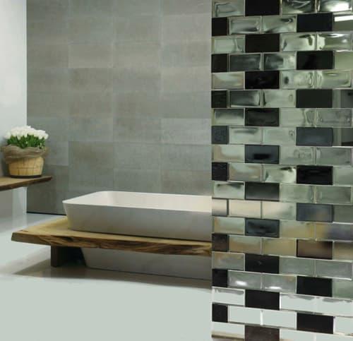 Bloques de vidrio decorativo para crear particiones - Bloques de vidrio para bano ...