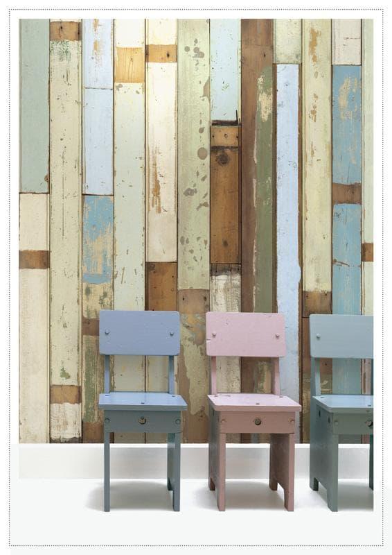 Papel pintado de madera vieja alterada por el paso del tiempo - Papel pintado madera ...