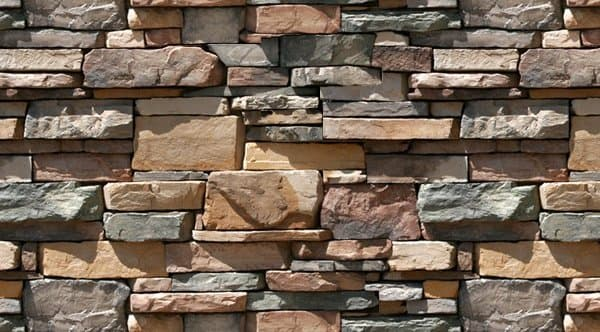 Aplacados de piedra natural para revestimientos verticales - Revestimiento de paredes imitacion piedra ...