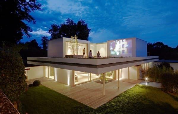 Casa S: reforma con cubierta ajardinada