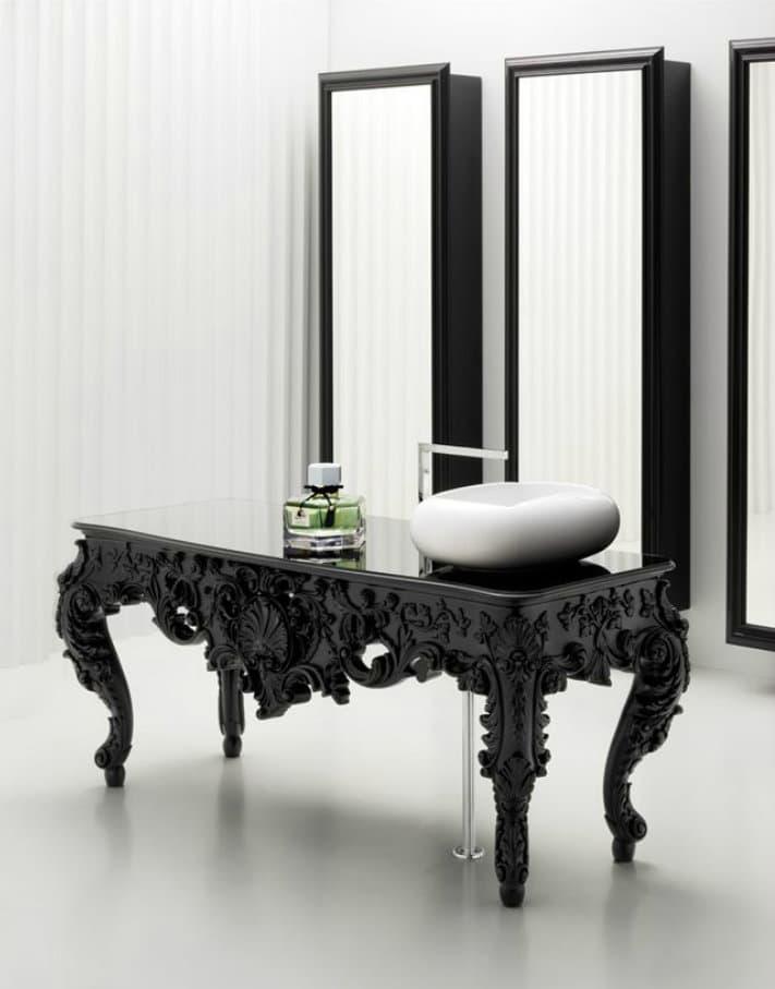 Griferia Vidrio Cascada Para Baño Diseno Elegancia:Mezcla de estilos en el cuarto de baño