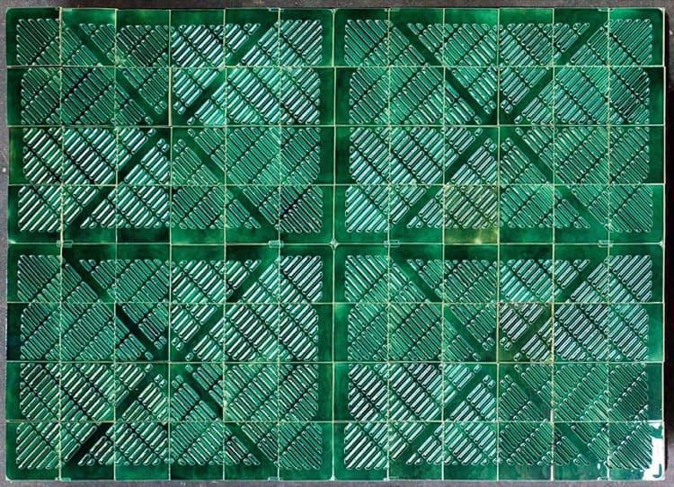 Azulejos con acabado hecho a mano y t cnicas modernas for Azulejo vitrificado
