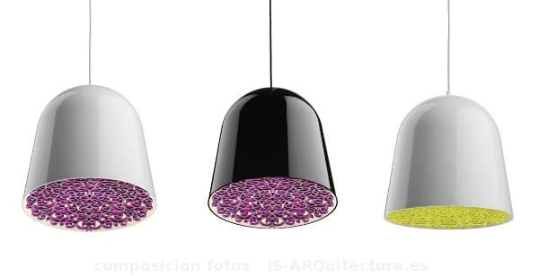 Lámpara Can Can, de Marcel Wanders