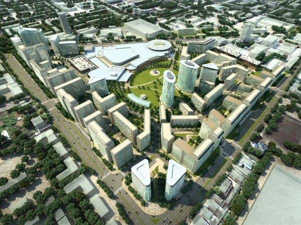 Plan urbanístico en Samara, de BDP Architects