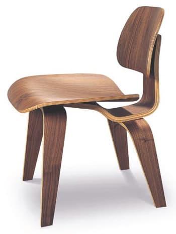 Josephine silla hecha con 5 piezas de madera curvada Modelos de sillas de madera modernas