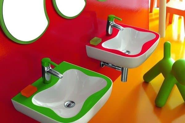 Baño Para Ninos Medidas:Florakids: cuarto de baño para los más pequeños de la casa