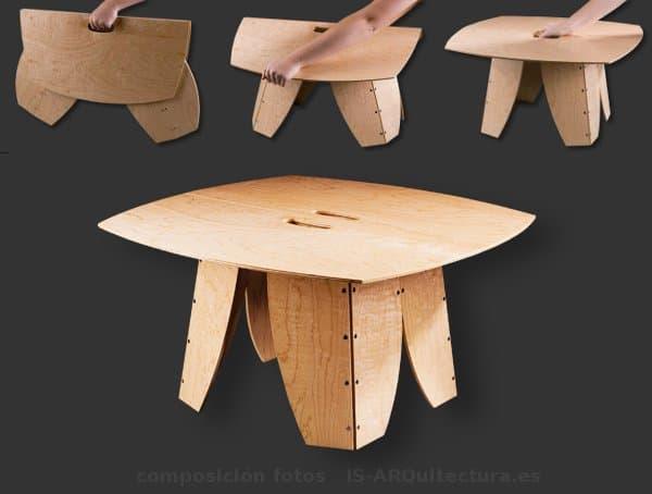 Snappytables mesas plegables de madera y pl stico port tiles - Mesas para ordenadores portatiles ...
