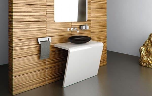 Lavabos Para Baño Con Pedestal:Colecciones de lavabos futuristas con pedestal, de Componendo