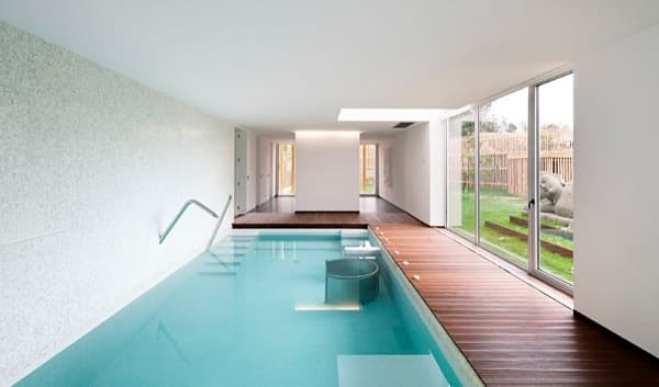 Mario rocha house casa en valongo portugal con piscina interior - Casas con piscina interior ...