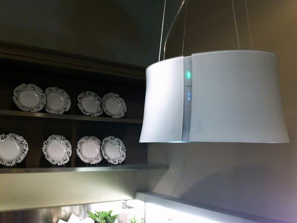 Zephiro: campana para filtrar el aire de cocina