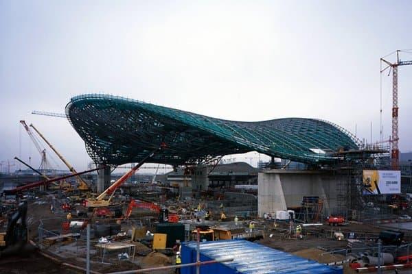 construcion Centro-Acuatico-Londres2012-Zaha-Hadid