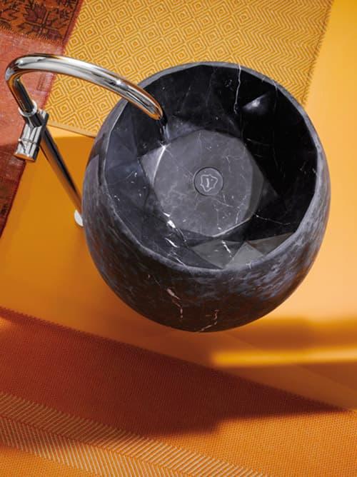 GEM: lavabo de pie de mármol