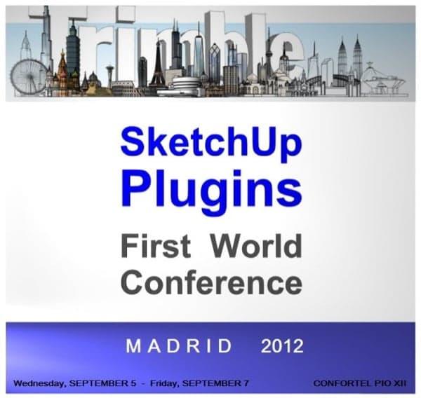 Conferencia de SketchUp Plugin en Madrid