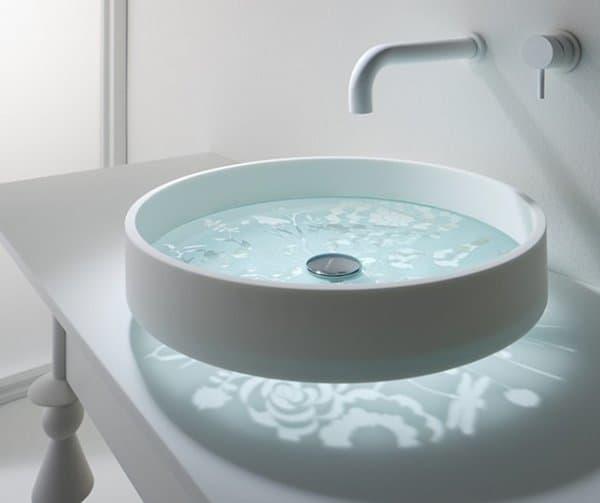 Lavabo Motif: creando un atractivo efecto en el baño