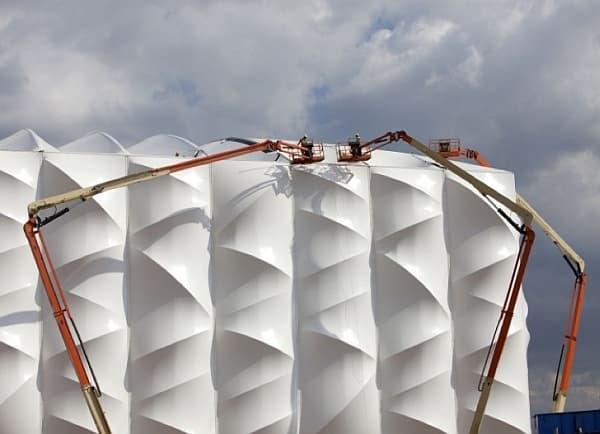 membrana-PVC-estadio-baloncesto-Londres2012