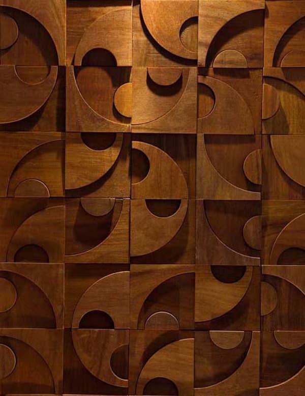 Colecci n de paneles decorativos de madera en relieve - Paneles de madera decorativos ...