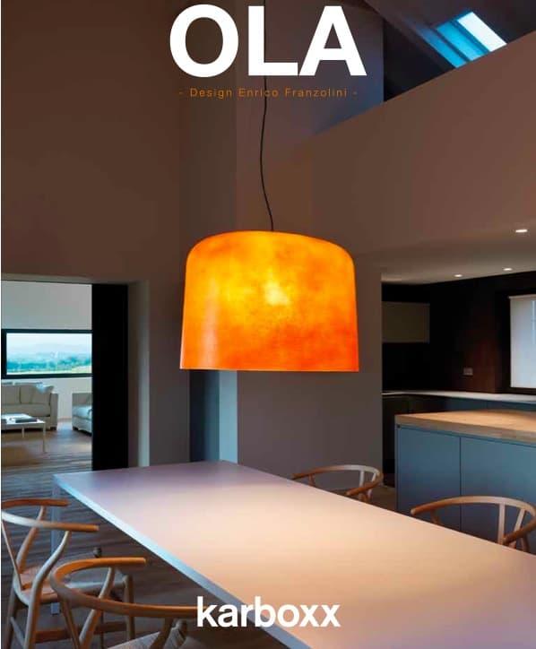 OLA-lampara-colgante-fibra-de-vidrio