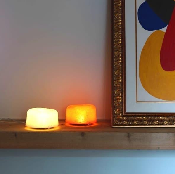 OLA-lamparas-mesa-fibra-de-vidrio