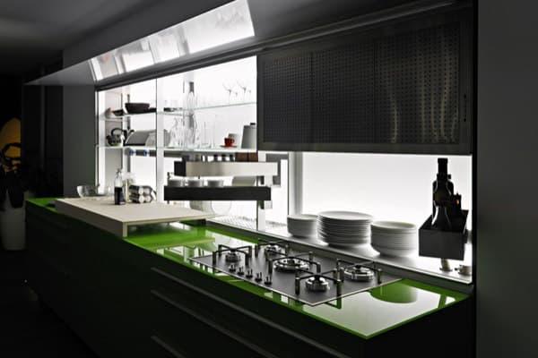 Nueva versión Logica System de la cocina Valcucine