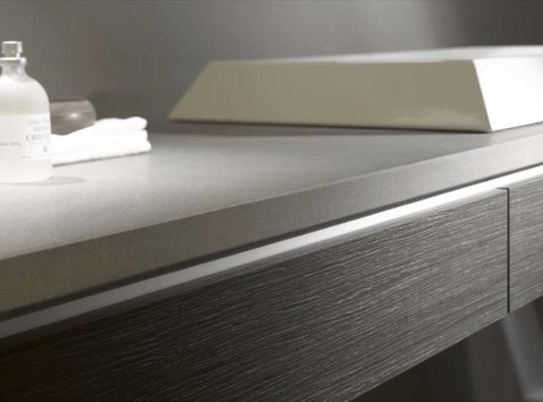 Muebles para el ba o con encimeras de vidrio firma alape - Encimeras de madera para bano ...