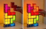 Tetris: una lámpara inspirada en el videojuego