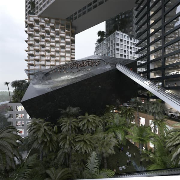 Torre-Peruri88-Yakarta-MVRDV-anfiteatro