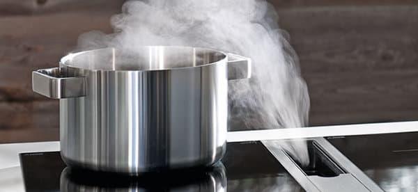 Bora extractores de aire en las placas de cocinar for Extractores de cocinas
