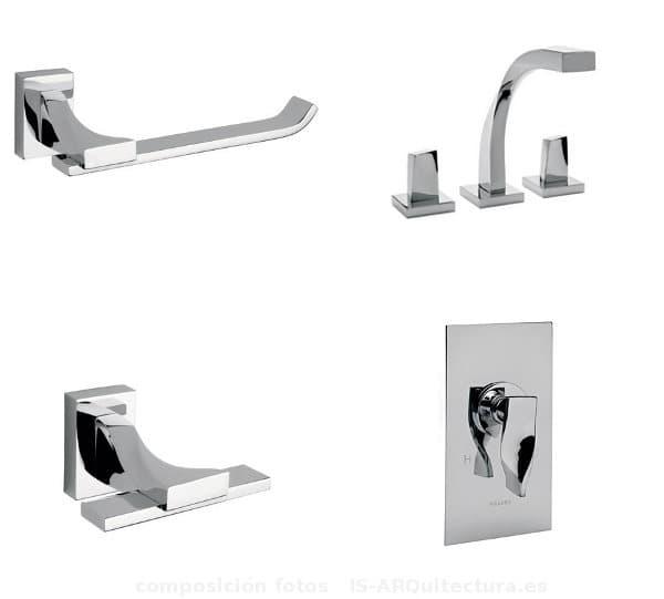 Accesorios De Baño Helvex:SPIRA: serie de GRIFOS y accesorios para el baño, de la firma HELVEX