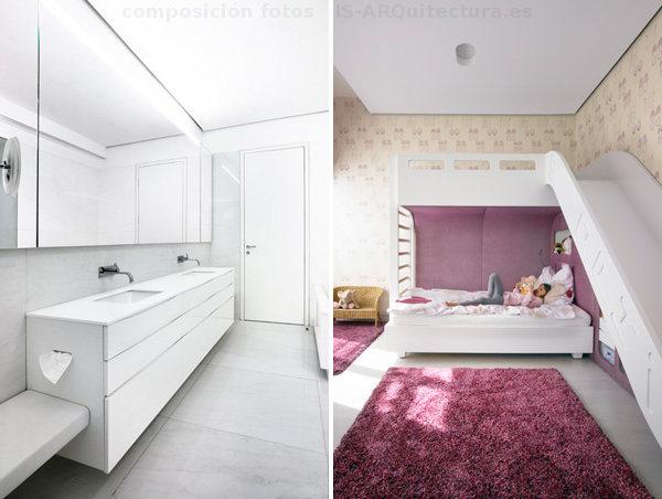 interiorismo-atico-lujo-Viena-baño