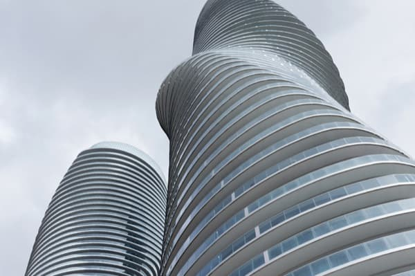 Absolute Towers, de MAD Architects
