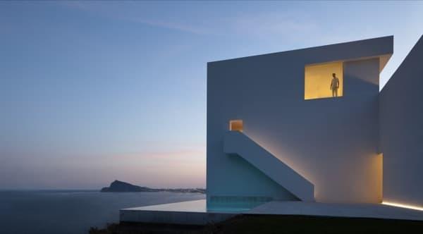 Casa del Acantilado, de Fran Silvestre Arquitectos