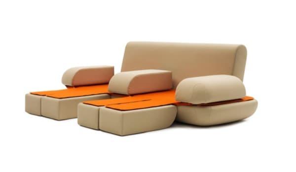 Dinamic-Life moderno sofá convertible