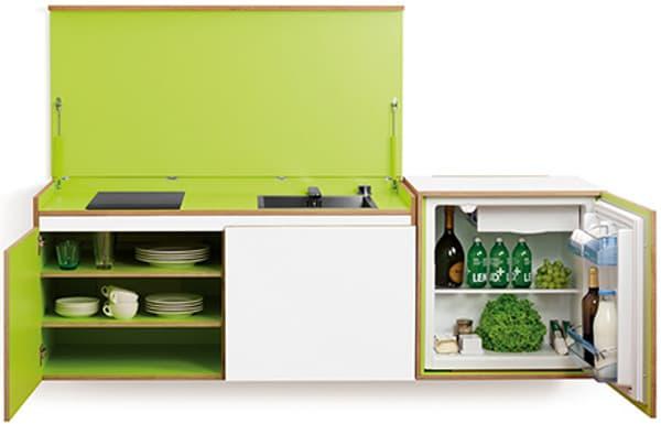 Miniki modelos de cocinas para espacios reducidos - Mini cocinas compactas ...