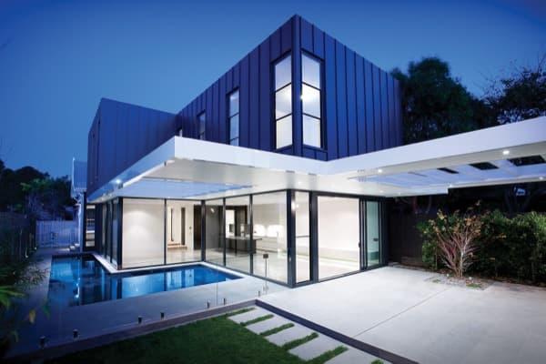 Reforma-casa-victoriana, exterior con piscina