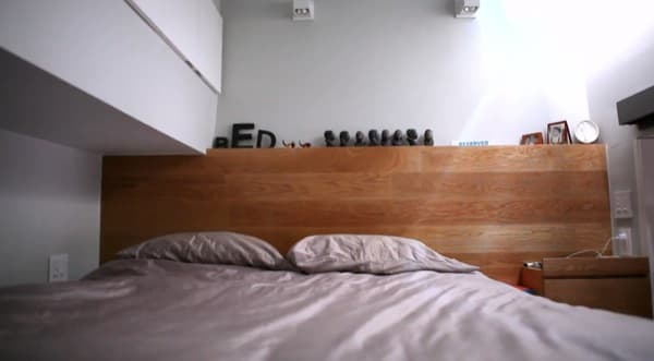 loft con cama-apartamento-East-Village-NY